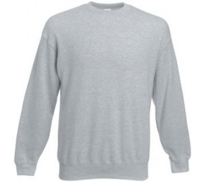 "Толстовка ""Set-In Sweat"", серо-лиловый_2XL, 80% х/б, 20% п/э, 280 г/м2"