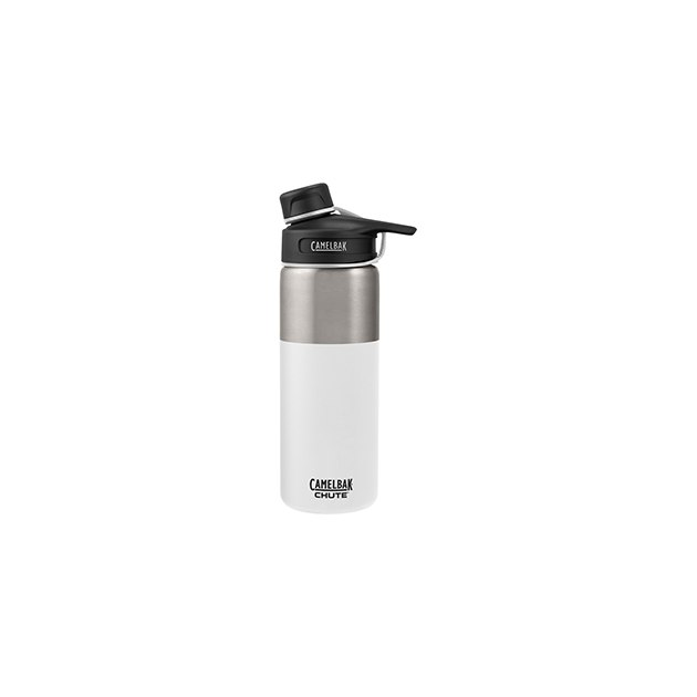 Термос CamelBak Chute Vacuum Insulated Stainless, 0,6л, белый/серебристый