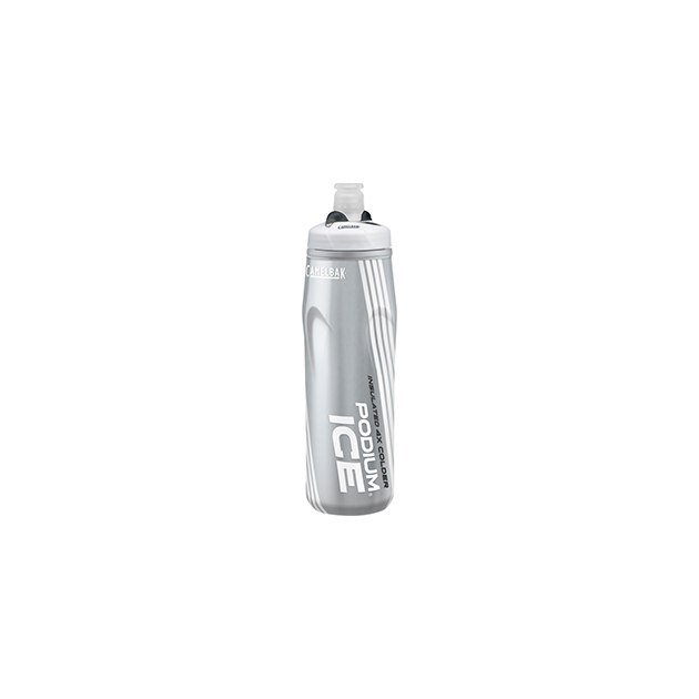 Бутылка CamelBak Podium® Ice ™ 0,62л, серебристый/белый